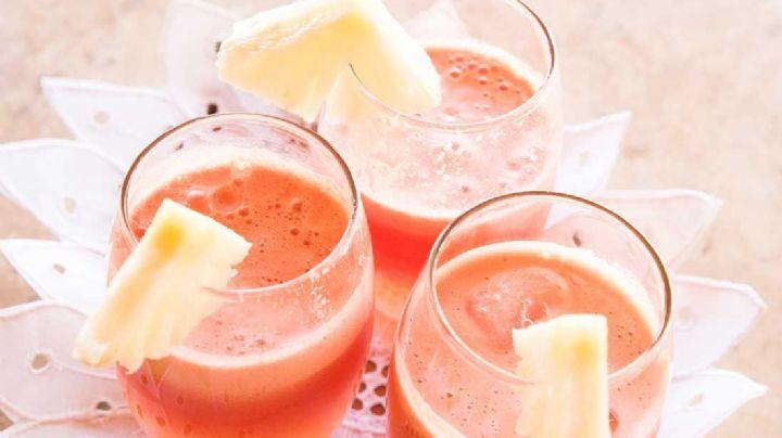 Combate el acné con este sencillo remedio de piña y fresas