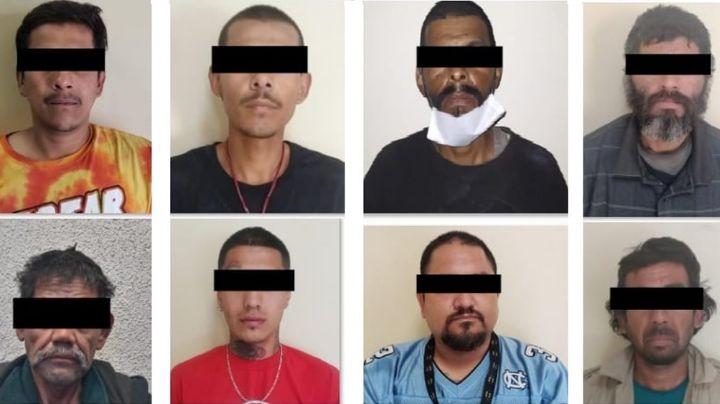 Golpe al crimen en Sonora: Aprehenden a ocho presuntos 'tiradores' en posesión de drogas