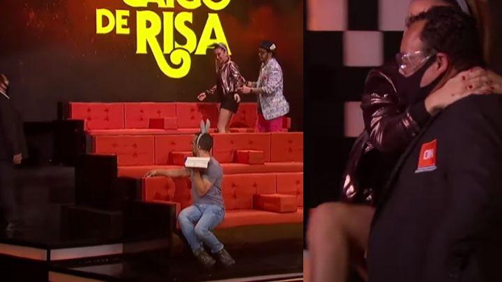 Con todo y seguridad: Corren de Televisa a conductora de 'MCR' y se niega a irse