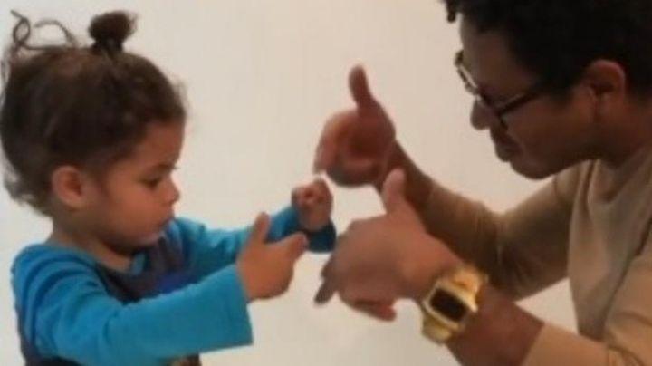 ¡Qué tierno! Hijo de Kalimba baila y canta la música de OV7 y causa revuelo en Instagram