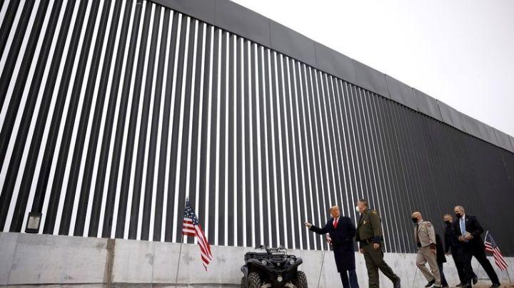 """Acusan a Joe Biden de """"romper la Ley"""" por no seguir la construcción del """"muro de Trump"""""""