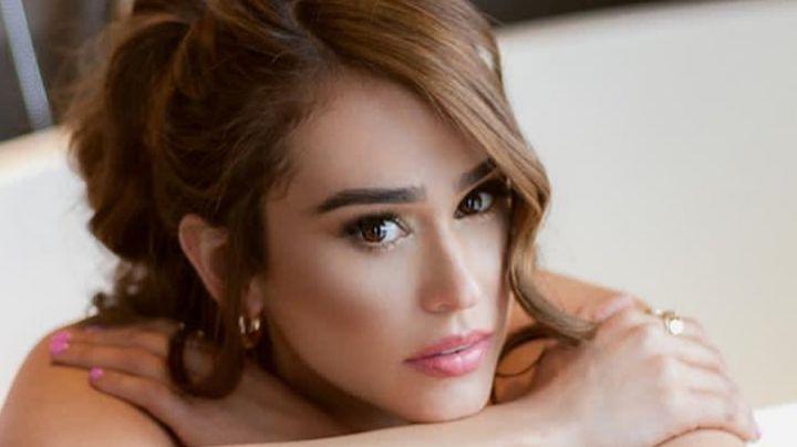 Tras dejar Televisa, Yanet García presume su impecable belleza con ligero atuendo rojo