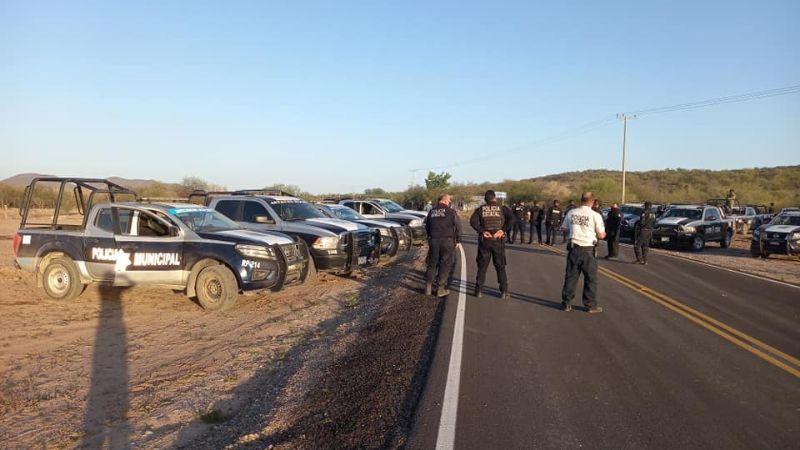 Tensión en el Valle de Guaymas: Se enfrentan delincuentes con la Guardia Nacional