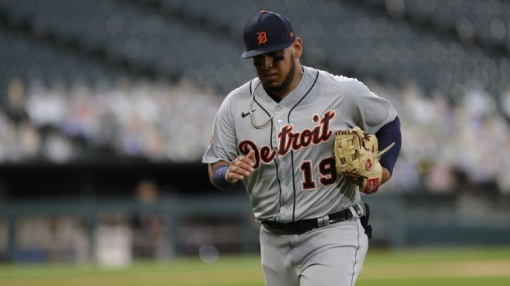 Uno menos; el pelotero mexicano Isaac paredes es bajado por los Tigres de Detroit
