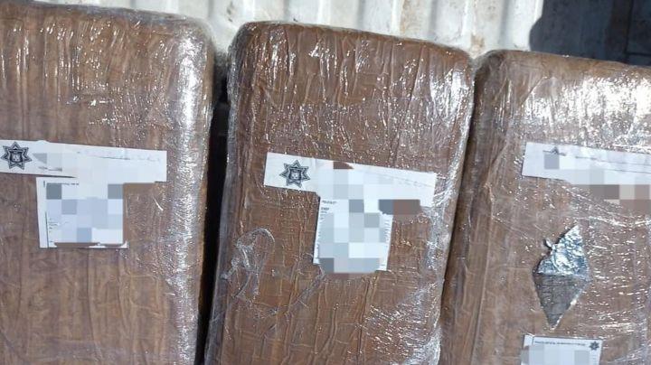 Autoridades incautan paquetes de marihuana en Navojoa; los 'tiradores' habrían huido