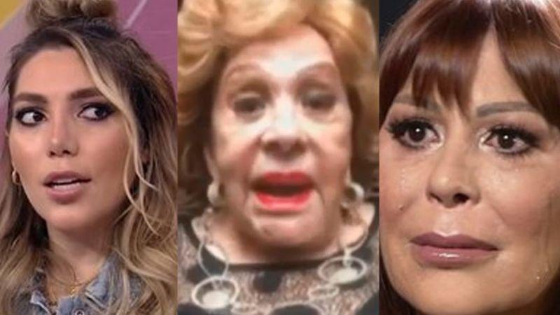 Silvia Pinal reacciona en 'Hoy' a pleito de Frida Sofía y Alejandra Guzmán; no cree que se arreglen