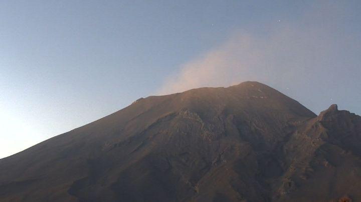 Popocatépetl baja a 19 exhalaciones en las últimas 24 horas; autoridades mantienen alerta fase 2