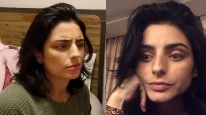 ¡Qué pesado! Vadhir Derbez exhibe VIDEO de Aislinn Derbez al hacer esto en el aeropuerto