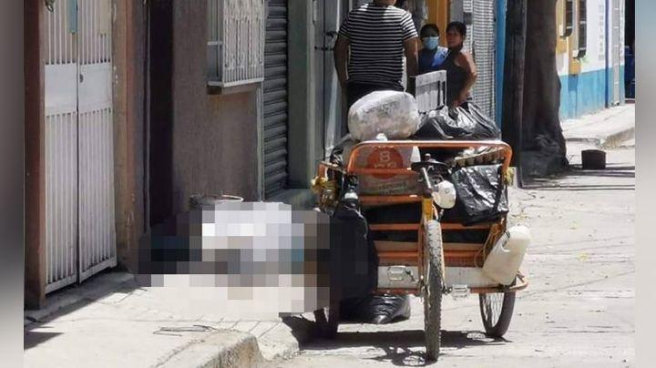 Sin piedad alguna, sicario acribilla y mata a Hortensio, un recolector de basura