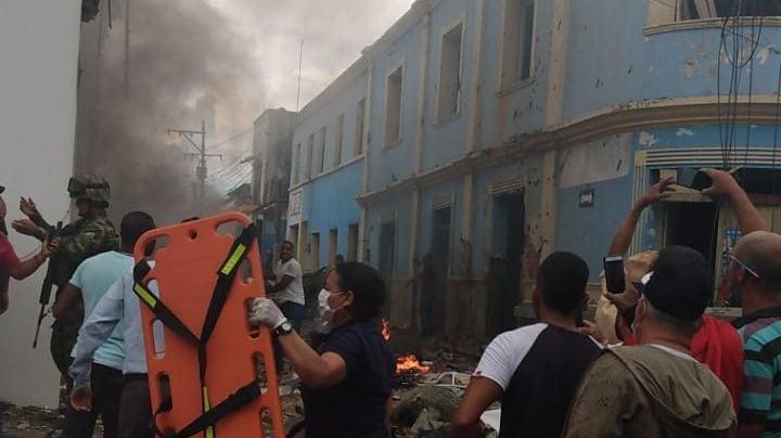 Carro bomba estalla en ataque terrorista de Colombia; hay 43 heridos y 8 casas destruidas