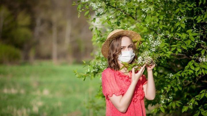 ¡Doble protección! El cubrebocas se ha convertido en un gran aliado para los alérgicos