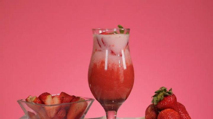 Esta sangría de fresas sin alcohol será perfecta para consentir a tu familia
