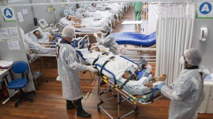 Tragedia en Brasil: Incrementan muertes por Covid-19 en pacientes jóvenes