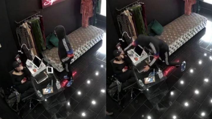 FUERTE VIDEO: Desconocido le corta la cara a una latina en una boutique de Nueva York