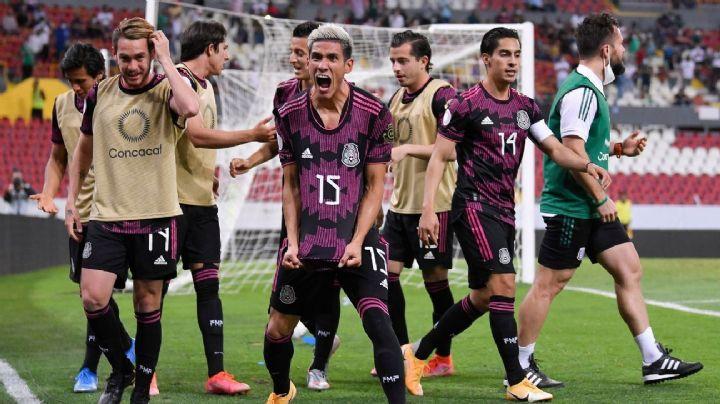 La selección mexicana sub 23 consigue su boleto a los Juegos Olímpicos de Tokio