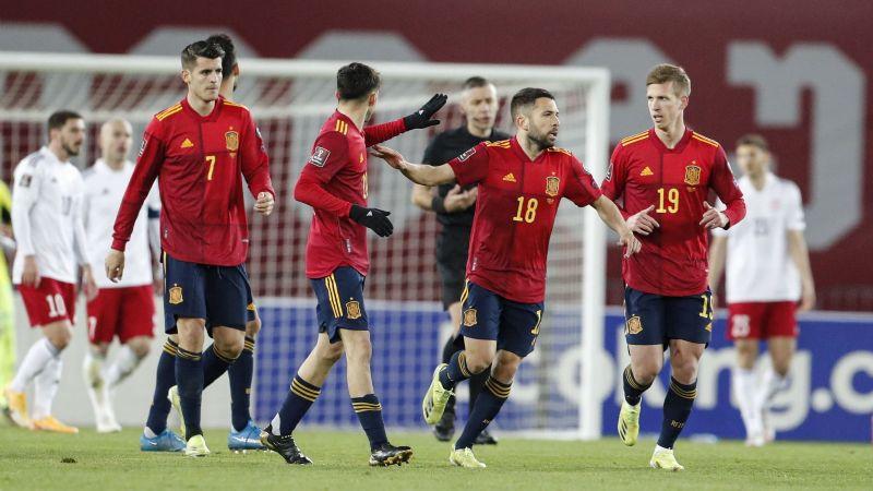 La Selección de España sufre para conseguir la remontada contra Georgia