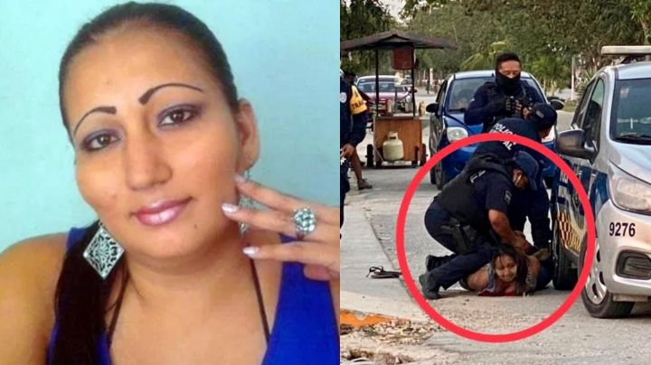 FOTOS: Así reciben el cuerpo de Victoria Salazar, víctima de asesinato por policías en Tulum
