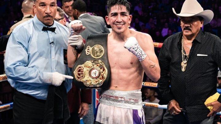 Un cuatro veces campeón mundial en diferente categoría reta a Óscar Valdez