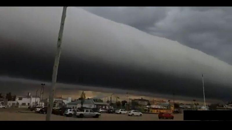 VIDEO: ¡Paisaje de impacto! Extrañas nubes sorprenden a varios ciudadanos al sur de Argentina