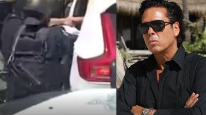 Acusan a Roberto Palazuelos de agresión de Policías en Tulum; el actor de Televisa niega violencia