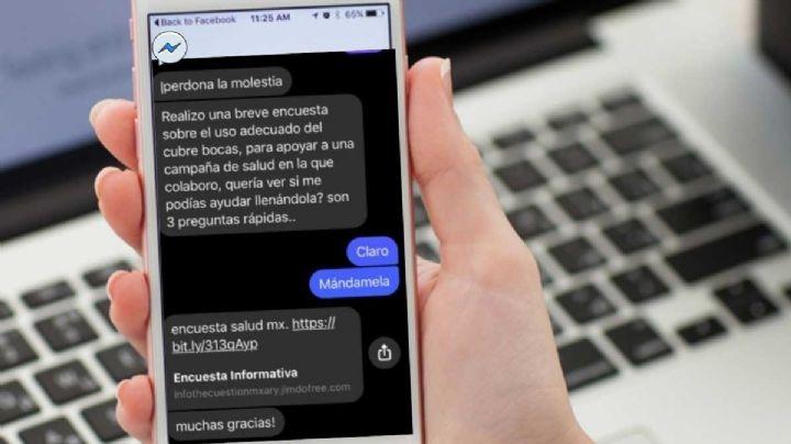 ¡Alerta! En Chihuahua roban datos personales a través de una falsa encuesta Covid