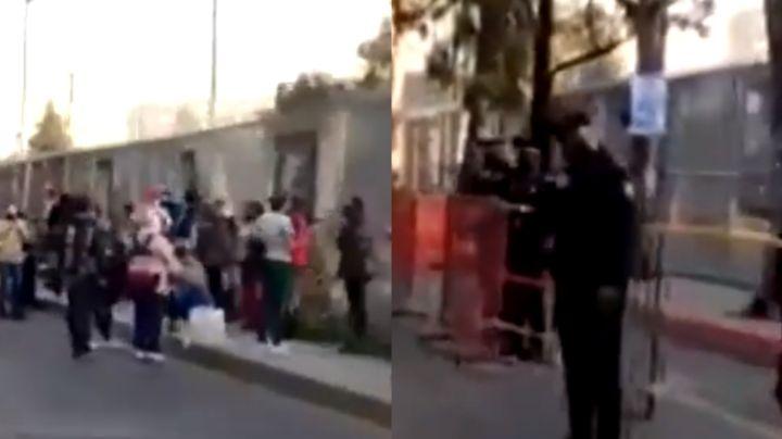 Mujer muere en la fila de vacunación anti-Covid en Puebla; un infarto paralizó su corazón
