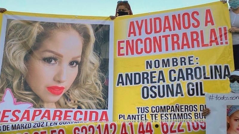 Buscadoras de Sonora reciben datos para hallar a Andrea Carolina, mujer desaparecida en Guaymas