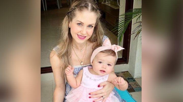 Tragedia en Televisa: Bebé de Ingrid Martz sufre grave caída y termina con dos dientes rotos