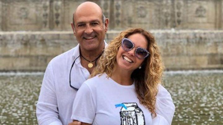 FOTO: Hijastro de Lucero se encuentra hospitalizado; sufrió delicado accidente aéreo