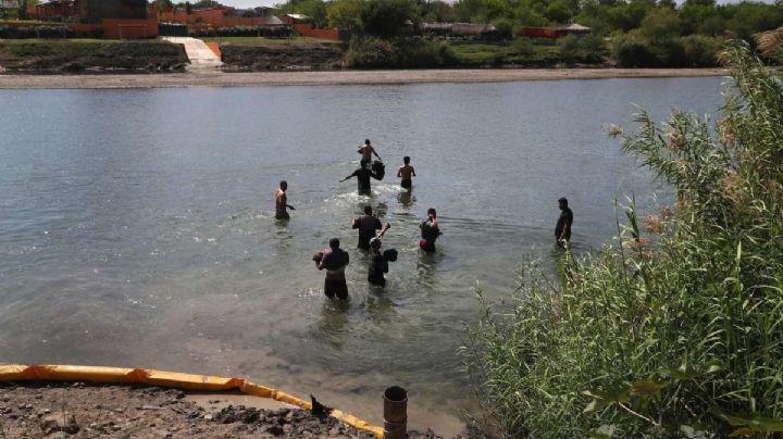 EU: Traficantes tiran a bebé de 6 meses al Río Grande; autoridades fronterizas la rescatan