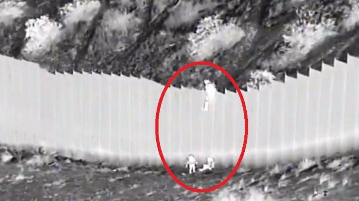 VIDEO: 'Coyote' arroja a dos niñas de 3 y 5 años desde el muro fronterizo al desierto de EU