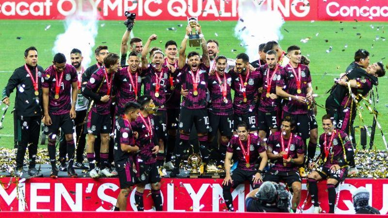La Selección Mexicana puede ser cabeza de serie en el sorteo Olímpico de Tokio 2020