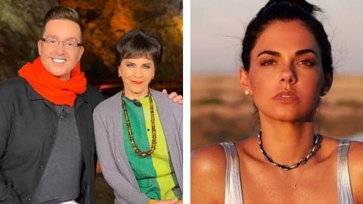 Desde 'Ventaneando', Chapoy y Bisogno destrozan en vivo a Livia Brito, actriz de Televisa