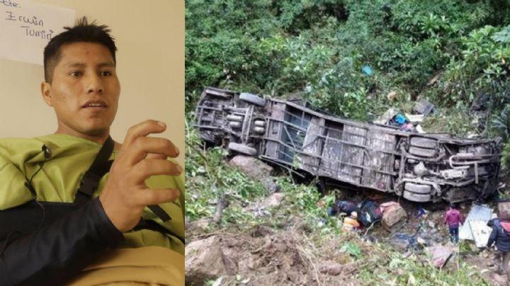 Erwin Tumiri: El hombre que ha estado en dos accidentes fatales y vive para contarlo