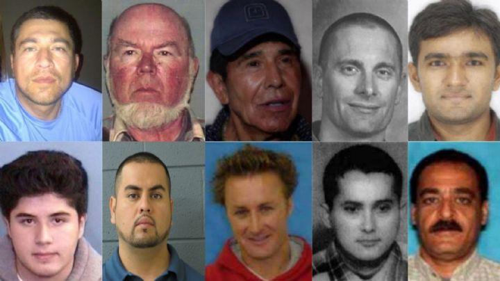 Top 10: Estos son los criminales más buscados por el FBI; varios están en México