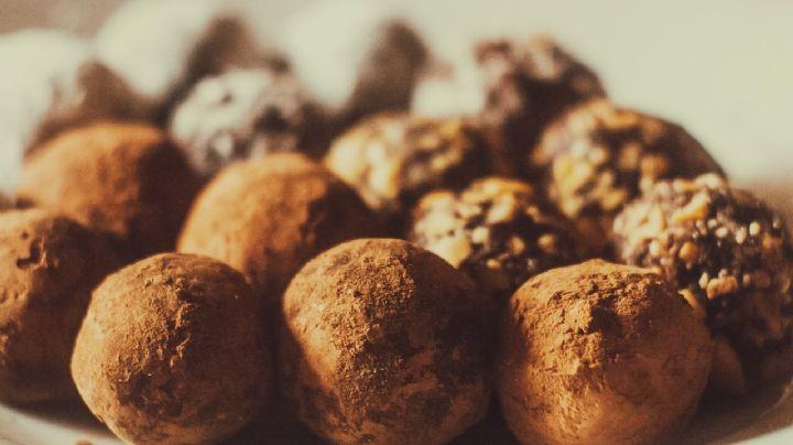 ¡Vuelve dulce tu Semana Santa! Estas trufas de chocolate vegano serán tu postre preferido