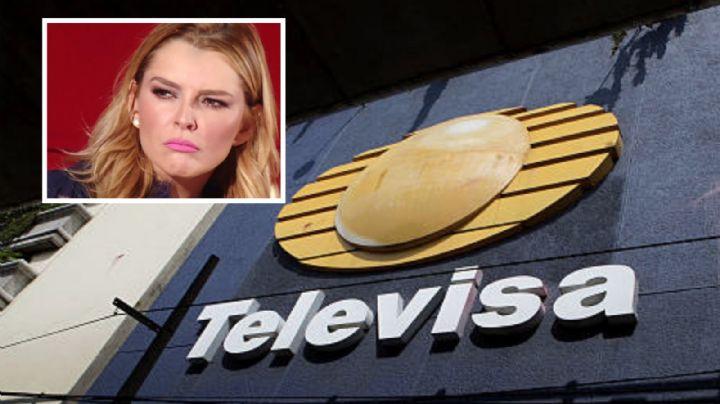 """¿La despiden? Exhiben a famosa actriz de Televisa mientras la regañan por """"pesada"""""""