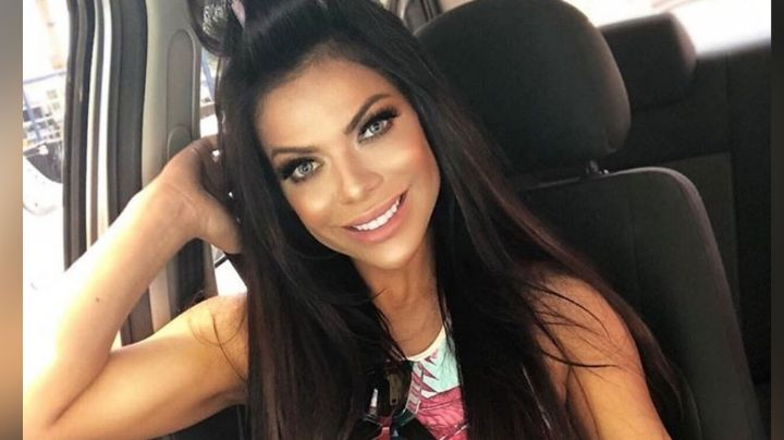 Arriba del elevador, Suzy Cortez derrite todo Instagram con su atuendo deportivo