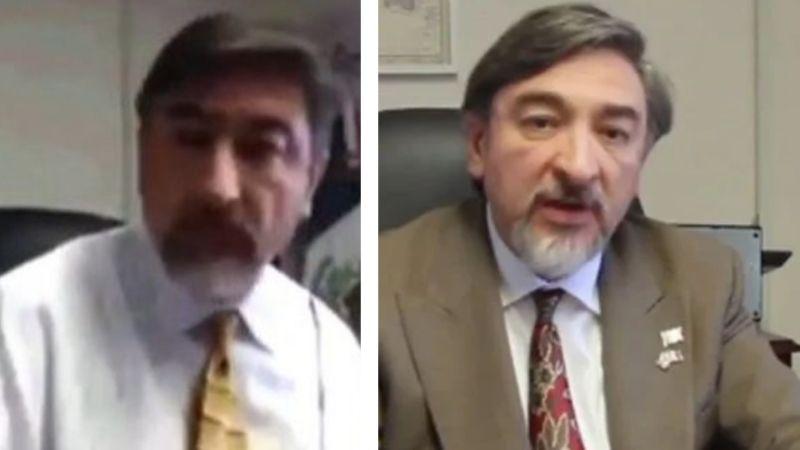Despiden a cónsul mexicano por filtrarse VIDEO íntimo en su oficina; exhibe amenaza