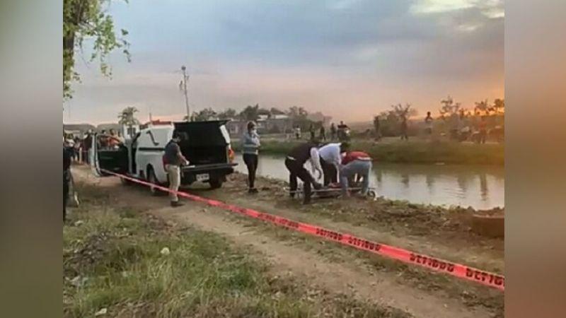 Lamentable: Encuentran el cadáver de un Joven en aguas del canal; habría sido asesinado