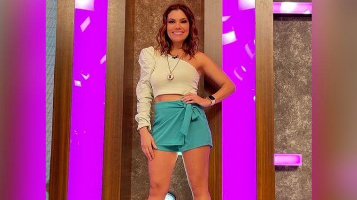 """Tábata Jalil enloquece a todo Instagram al lucir atractivo 'outfit' en 'Venga la Alegría': """"Diosa"""""""