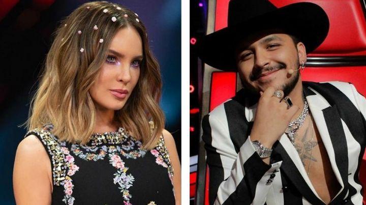 Golpe a TV Azteca: Tras triunfar en 'La Voz', Nodal vuelve a Televisa y habla de su boda con Belinda