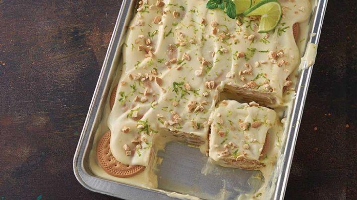 ¿Te gusta la carlota de limón? Entonces este helado te fascinará; descubre la receta