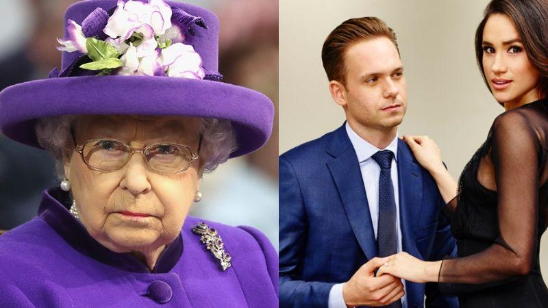 """Meghan Markle dice que la Reina Isabel II la """"silenció""""; exactor de 'Suits' la defiende"""