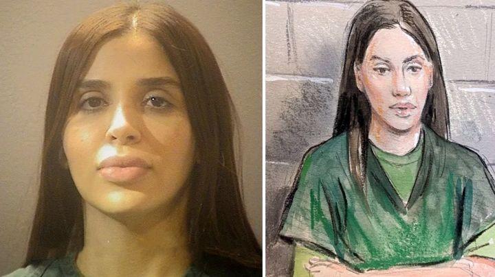 Con frío y sin bañarse: La dura vida en prisión de Emma Coronel, esposa de 'El Chapo'