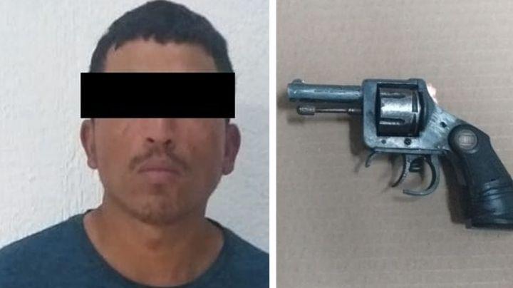 Cae supuesto 'tirador' en Ciudad Obregón; llevaba un arma corta y metanfetamina