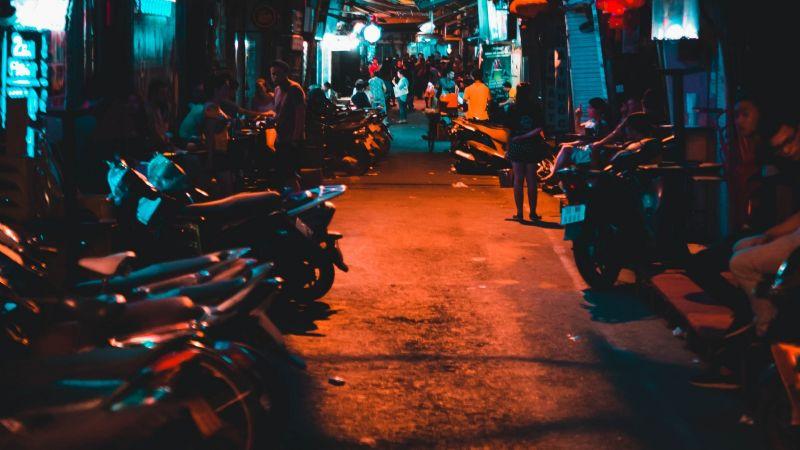 FOTOS: Pese a pandemia por Covid-19, más de 300 motociclistas participan en mega rodada