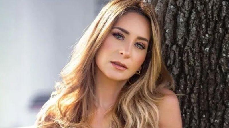 Geraldine Bazán se escapa a Cuernavaca y deleita en Instagram al modelar 'outfit' playero