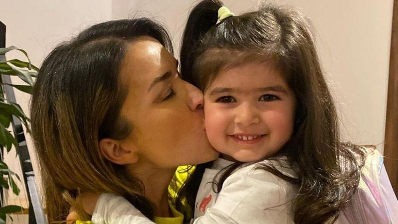 ¡Increíble! Laura G comparte VIDEO de la enorme casa en la que juega su hija Lisa