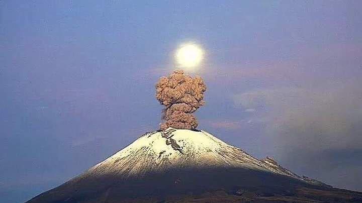 Volcán Popocatépetl disminuye exhalaciones pero aumenta minutos de tremor